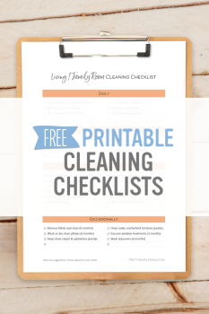 Room-by-Room House Cleaning Checklists – Free Printables