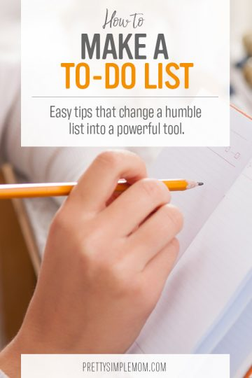 How to Make a To-Do List that Actually Helps You Get More Done