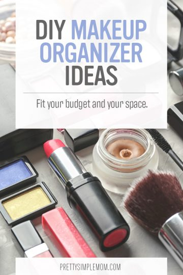Creative DIY Makeup Organizer Ideas