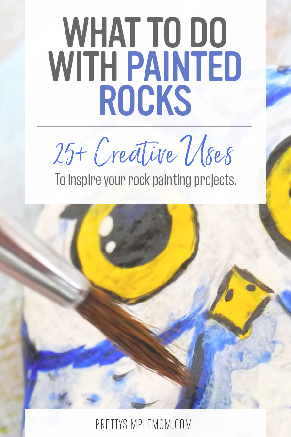 what to do with painted rocks