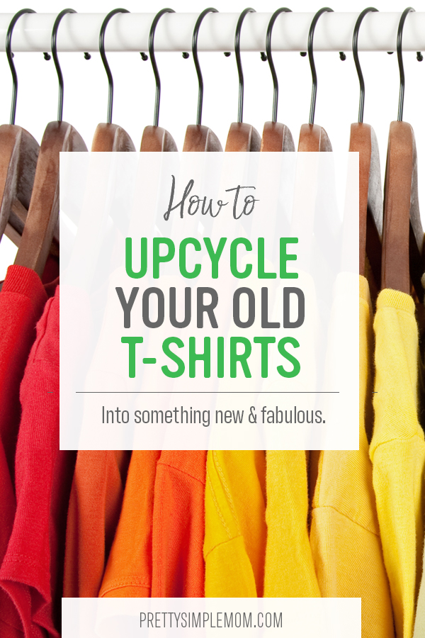 How to upcycle your old t-shirts.