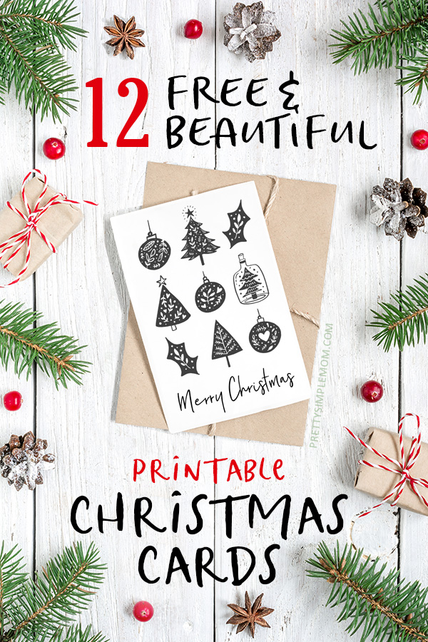 It is a picture of Free Printable Photo Christmas Cards throughout blank