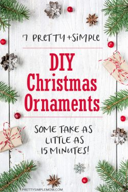 DIY Christmas Ornaments: 7 Easy To Make Christmas Ornament Craft Ideas