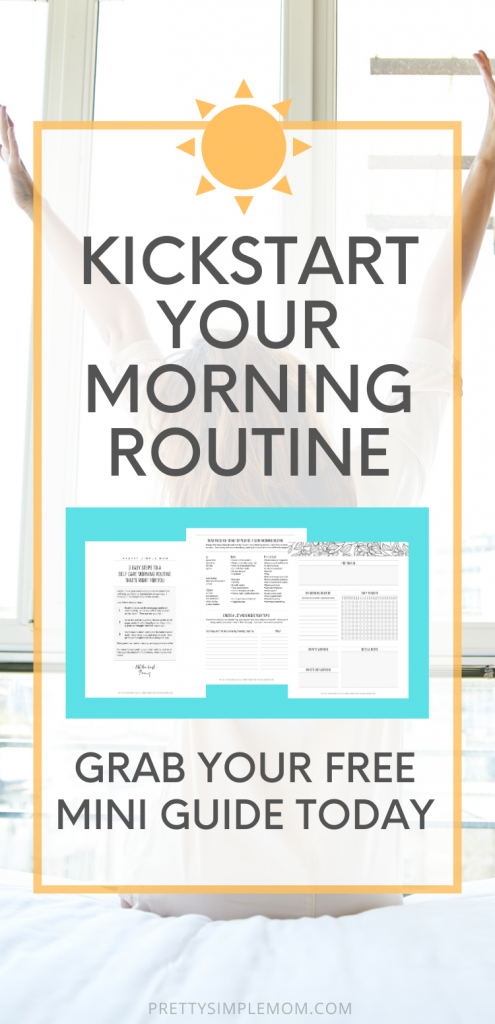 self care morning routine guide